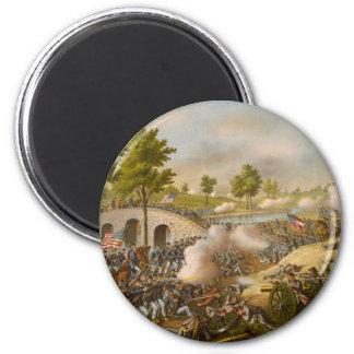 Battle of Antietam--Army of the Potomac Refrigerator Magnet