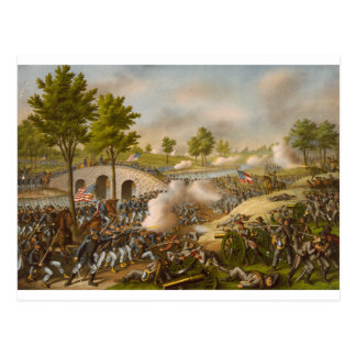 Battle of Antietam--Army of the Potomac Postcard