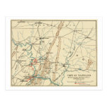 Battle of Antietam - Civil War Panoramic Map 7 Postcards
