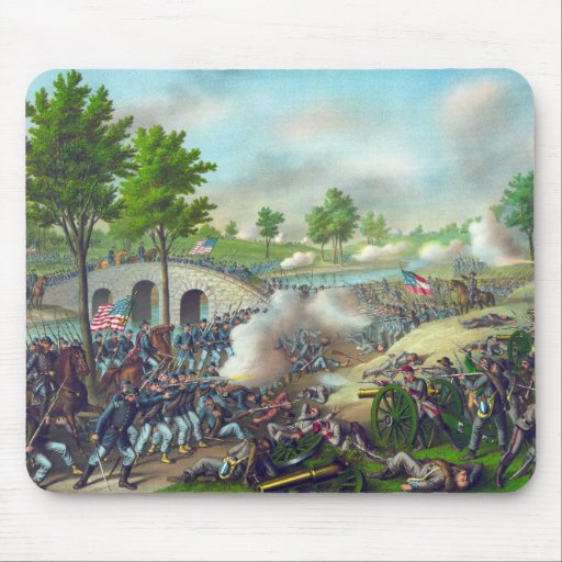 Battle of Antietam Mouse Pad