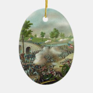 Battle of Antitam Christmas Tree Ornament