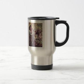 Battle of Archangel Michael, Satan by Tintoretto 15 Oz Stainless Steel Travel Mug