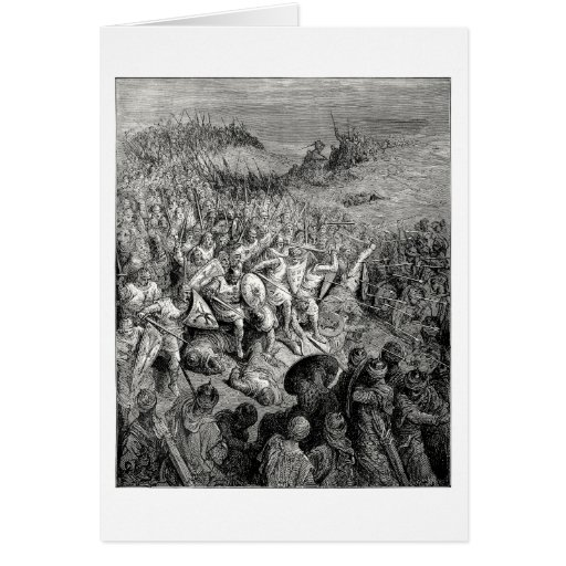 Battle of Arsuf Greeting Card