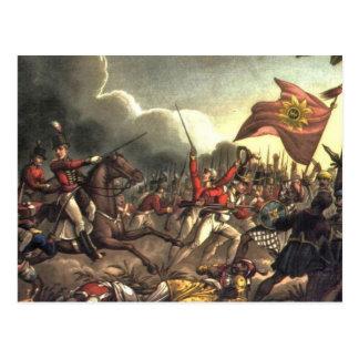 Battle of Assaye Postcard