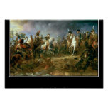 Battle of Austerlitz Vintage Poster Posters