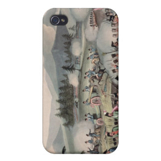 Battle of Barrosa etched by I. Clarke Cases For iPhone 4