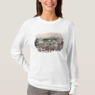 Battle of Barrosa etched by I. Clarke T-Shirt