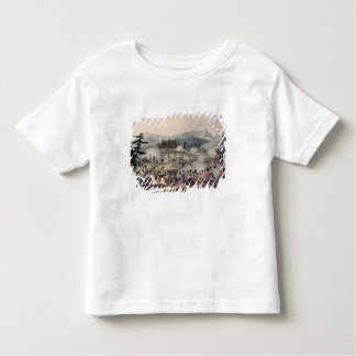 Battle of Barrosa etched by I. Clarke Toddler T-shirt