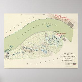Battle of Belmont Print