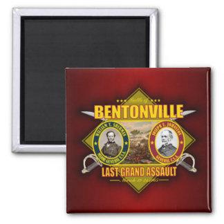 Battle of Bentonville 2 Inch Square Magnet