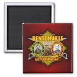 Battle of Bentonville Fridge Magnet