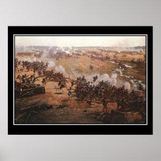 Battle of Borodino 2 Napoleon Vintage Poster