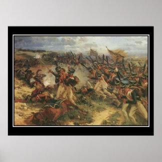 Battle of Borodino Napoleon Vintage Poster
