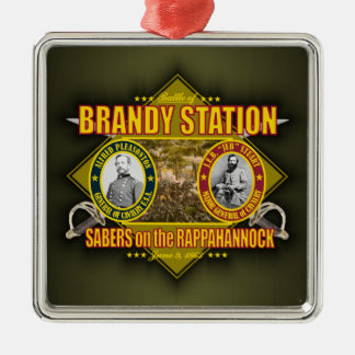 Battle of Brandy Station Metal Ornament
