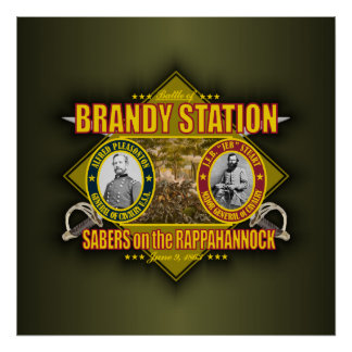 Battle of Brandy Station Poster