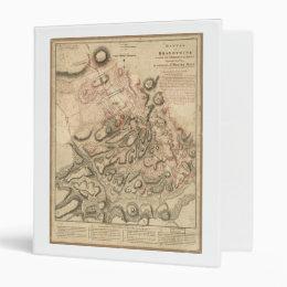 Battle of Brandywine American Revolution Map 1784 Binder