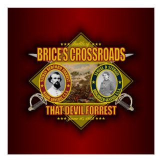 Battle of Brice's Crossroads Poster