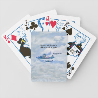 BATTLE OF BRITAIN MEMORIAL FLIGHT PLAYING CARDS