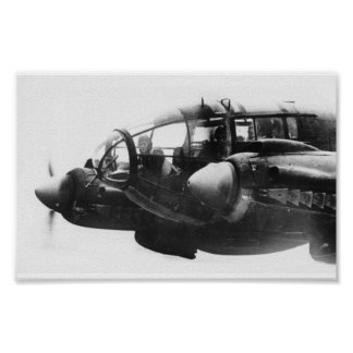 Battle of Britain Series - Heinkel He111 (1) Poster