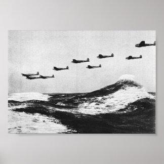 Battle of Britain Series - Heinkel He111 #2 Poster