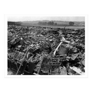 Battle Of Britain & The Blitz: #10 Graveyard Postcard