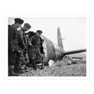 Battle Of Britain & The Blitz: #4 War Trophies Postcard