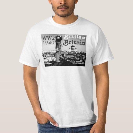 Battle of britain ww2 1940 t shirt zazzle for Built for war shirt
