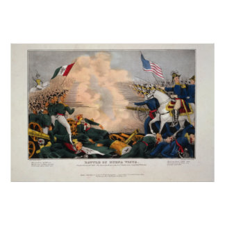 Battle of Buena Vista by James S. Baillie Poster