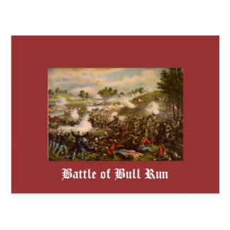 Battle of Bull Run Post Card