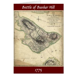 Battle of Bunker Hill - American Revolutionary War Card
