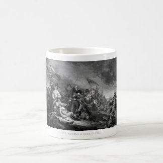 Battle of Bunker Hill Classic White Coffee Mug