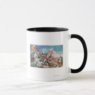 Battle of Bunker Hill Scene - Charlestown, MA Mug