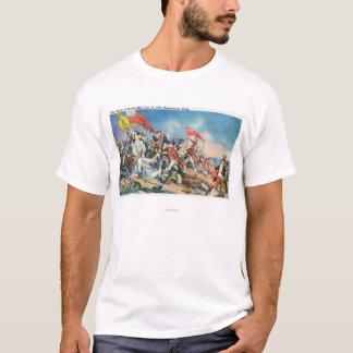 Battle of Bunker Hill Scene - Charlestown, MA T-Shirt