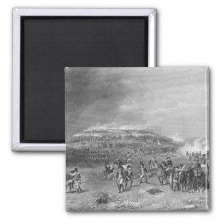 Battle of Bunker's Hill 2 Inch Square Magnet