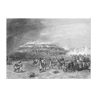 Battle of Bunker's Hill Canvas Print