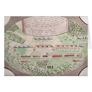 Battle of Camden, 1780 Greeting Cards