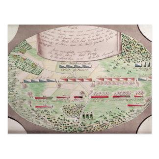 Battle of Camden, 1780 Postcard