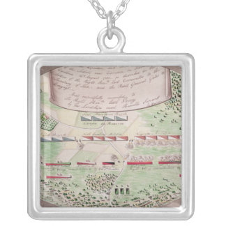 Battle of Camden, 1780 Silver Plated Necklace