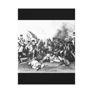 Battle of Camden - Death of De Kalb_War Image Canvas Print