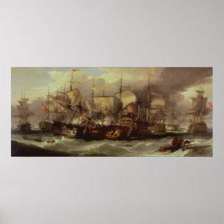 Battle of Cape St.Vincent Poster