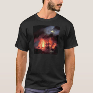 Battle of Cesme at Night T-Shirt
