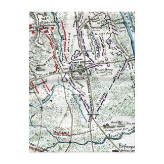 Battle of Chancellorsville 2 Canvas Print