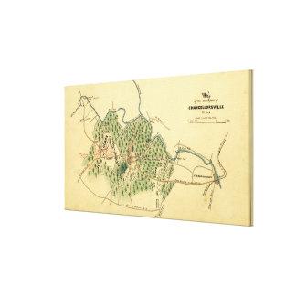 Battle of Chancellorsville 3 Canvas Print