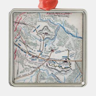 Battle of Chancellorsville 3 Metal Ornament