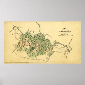 Battle of Chancellorsville Poster