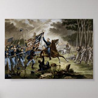 Battle of Chantilly - Civil War Poster