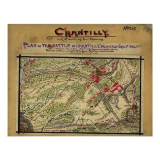 Battle Of Chantilly Poster
