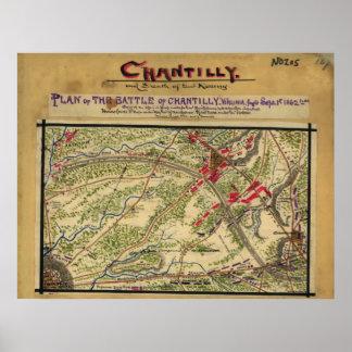 Battle Of Chantilly Poster