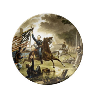 Battle of Chantilly Virginia American Civil War Dinner Plate