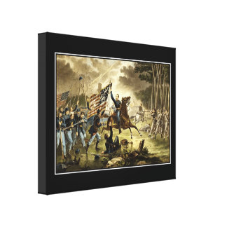 Battle of Chantilly, Wrapped Canvas